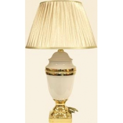 Настольная лампа.Керамика. Высота – 49 см