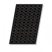 Форма конд. «Прямоугольники» [35шт], L=50,B=26мм