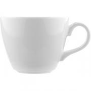 Чашка чайная «Лив» фарфор; 170мл; белый
