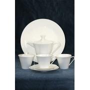 Чайный сервиз на 6 персон белый 23 предмета