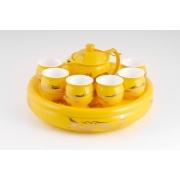 Подарочный набор для чая (желтый)