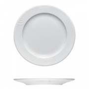Тарелка мелкая «Карат», фарфор, D=200,H=17мм, белый