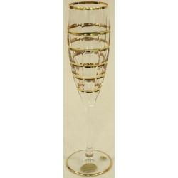 Бокалы для шампанского «Готик» 6 шт