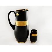 Набор черный (42055) (кувш+6 стак)