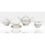 Сервиз чайный «Антик» 17 предметов на 6 персон