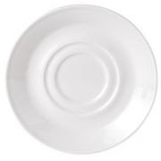 Блюдце «Симплисити Вайт«d=16.5см фарфор