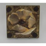 Картина без рамки «Роза в шоколаде» 20*20