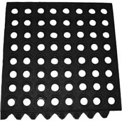Коврик резиновый 91.5*91.5см черный
