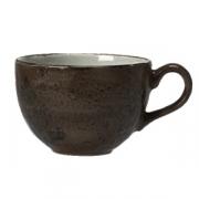 Чашка кофейная «Крафт», фарфор, 85мл, D=65,H=53,L=83мм, серый