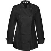 Куртка поварская разм. M полиэстер, хлопок; черный