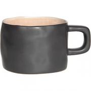 Чашка «Лагуна» керамика; 230мл; коричнев. ,бежев.