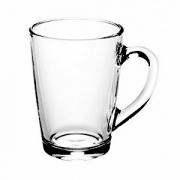 Кружка «Капучино», стекло, 300мл, D=82,H=108,L=110мм, прозр.