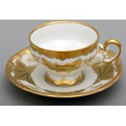 Набор кофейный мокко100 мл на 6 перс. 12 пред. подарочный«Кленовый лист белый»