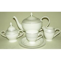 Чайный сервиз «Элеганс» 21 предмет на 6 персон