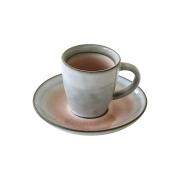 Чашка с блюдцем Origin (пыльно-розовая) без инд.упаковки