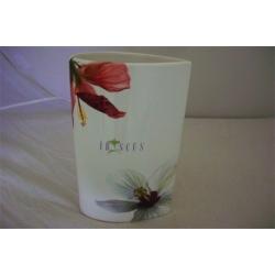 Ваза для цветов 20 см «Гибискус»