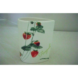 Ваза для цветов «Клубника» 20 см