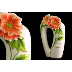 Ваза для цветов «Цветущий мак» 25 см