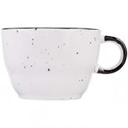Чашка чайная «Пастораль» фарфор; серый