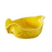 Блюдо для дичи, фарфор, H=60,L=151,B=105мм, желт.