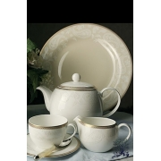 Набор чайных пар на 6 персон, 270мл «Золотая вышивка»