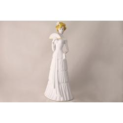 Статуэтка «Дама с веером» 42 см