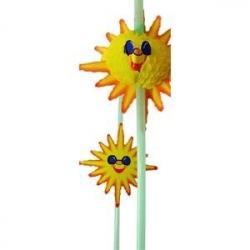 Трубочка «Солнышко» разноцветные 50шт.