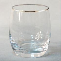 Набор стаканов 1/6 «Идеал» 290 мл; виски; отводка платина