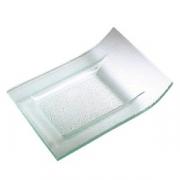 Блюдо прямоугольное «Криэйшнс» «Криэйшнс», стекло, L=30,B=23см, прозр.