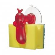 Держатель для губки «Норберт» (NORBERT) Koziol 6,8 x 9,5 x 10,8см (красный)