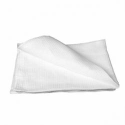 Полотенце белое вафельн.40х80см