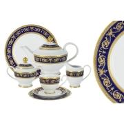 Чайный сервиз Императорский (кобальт) 42 предмета на 12 персон