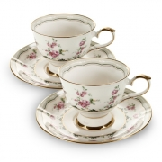 Пара чайная,1 перс 2 пр Цветы