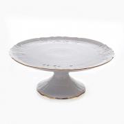 Тортница 32 см н/н «Бернадот белый 311011»