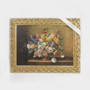 Картина 50x70 см. «Цветы»