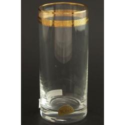 Стакан для воды 300 мл Гольф декор панто+ золото