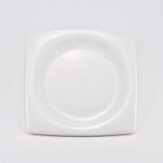 Набор 6 тарелок 19см «White Square»