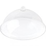 Крышка для тарелки; поликарбонат; D=35см