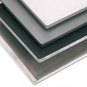 Противень с антиприг.покрыт., алюмин.,тефлон, H=2,L=60,B=40см, синий,черный