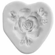 Форма для марципана «Роза», силикон, D=5см
