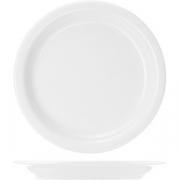 Тарелка пирожковая «Америка» D=16.5, H=1.8см; белый