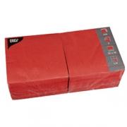 Салфетки 33*33см красные 250шт