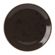 Тарелка мелкая «Крафт», фарфор, D=202,H=16мм, серый