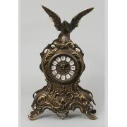 Часы с орлом каштан 35х21 см.