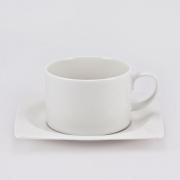 Чайная пара 0,25л «White Square»