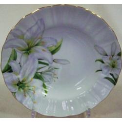 Набор из 6 суповых тарелок «Лилия» 21 см