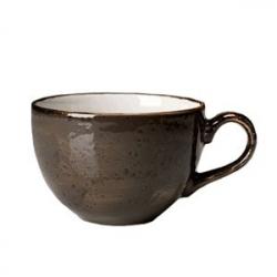 Чашка чайная «Крафт», фарфор, 450мл, D=12,H=8,L=15см, серый