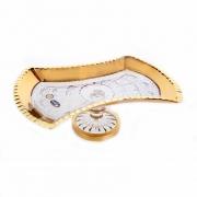 Рулетница н/н 27см «Снежинка с золотом 2»