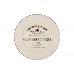 Обеденная тарелка «Кухня в стиле Кантри»