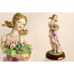 Статуэтка «Девушка» 36 см (цветная)